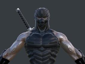 忍者男  肌肉男  忍者龙剑传 隼龙