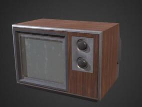 赛博朋克简单旧电视