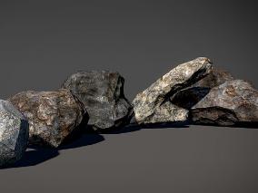 次世代石头模型合集