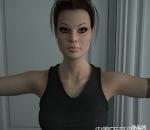 古墓丽影劳拉3D模型全套下载  有裸模和穿衣服的