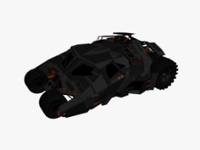 赛博朋克汽车  蝙蝠车  未来科幻