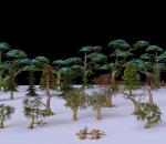 低面数游戏/虚拟现实植物模型包