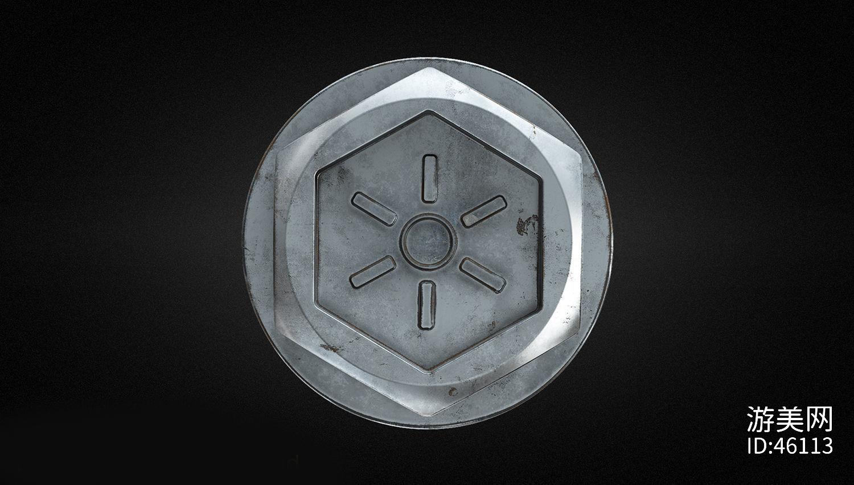 六角螺母和螺丝头-cg模型免费下载-CG99