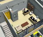 工业建筑  城市建筑  沙盘场景模型