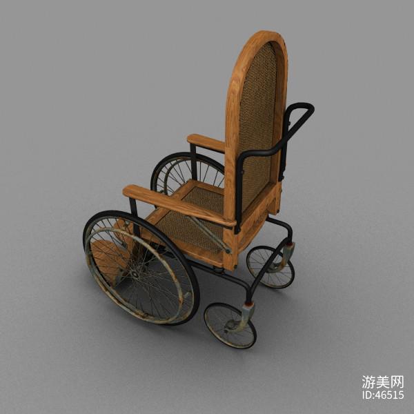 老式轮椅模型 游戏