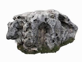 写实石头cg模型