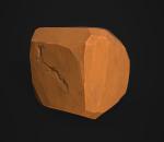程式化卡通石头样本