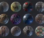 18个高质量的科幻材质