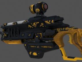 次时代赛博朋克科幻枪