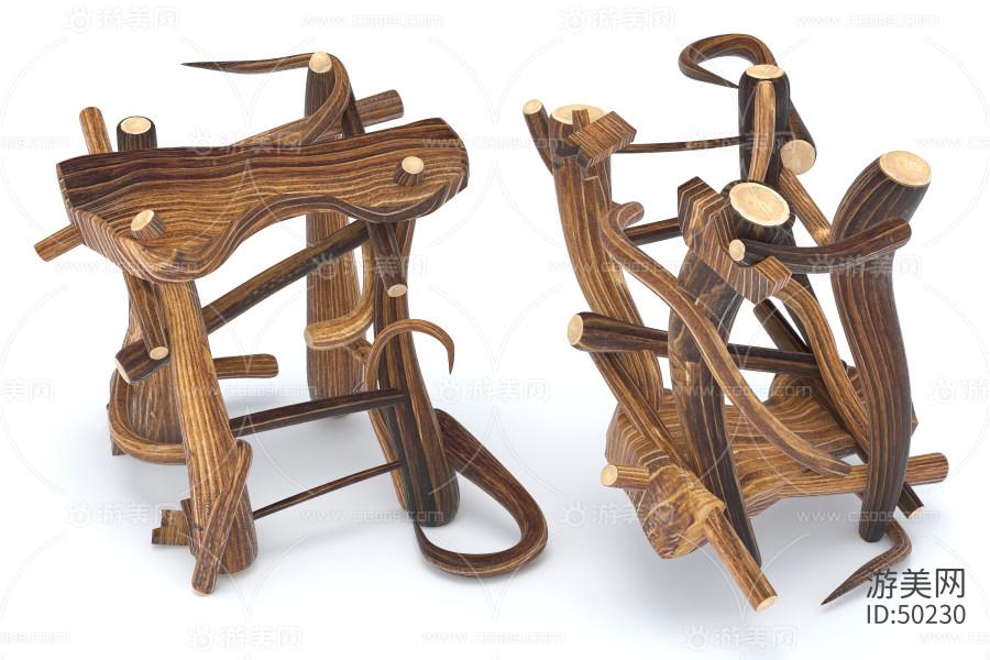 卡通小凳子 小木椅