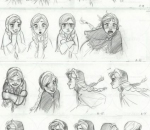 经典动画角色各种表情该如何画?