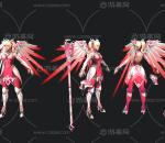 守望先锋 天使皮肤 粉红天使