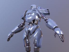 次时代  赛博朋克机器人  金属  机械