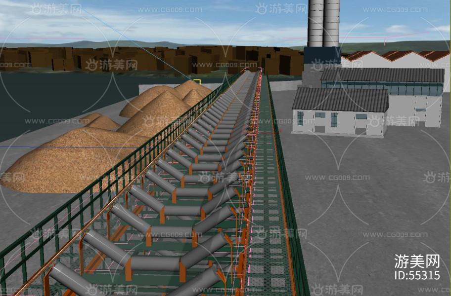 皮带机 传送带 煤场输送设备