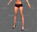 标准女性人体 比基尼 女孩 美女