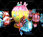 游乐设备 玩具 游乐场 游乐园 公园 效果图 规划 自控飞机