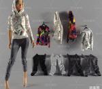 现代人物模特免费3d模型