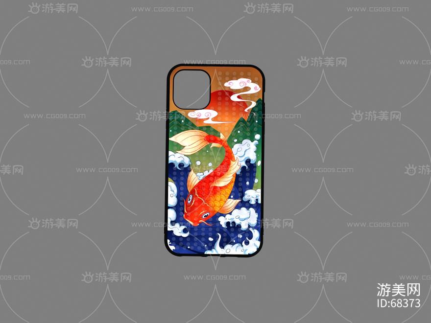 鲤鱼手机壳IPHONE 11 PRO MAX 6