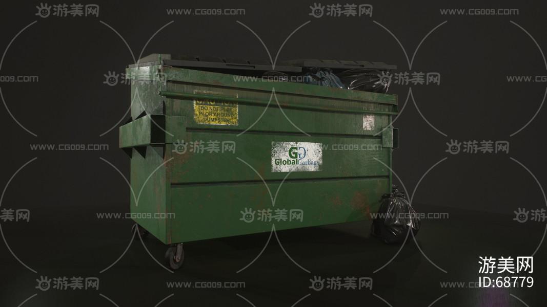 铁垃圾箱   垃圾桶