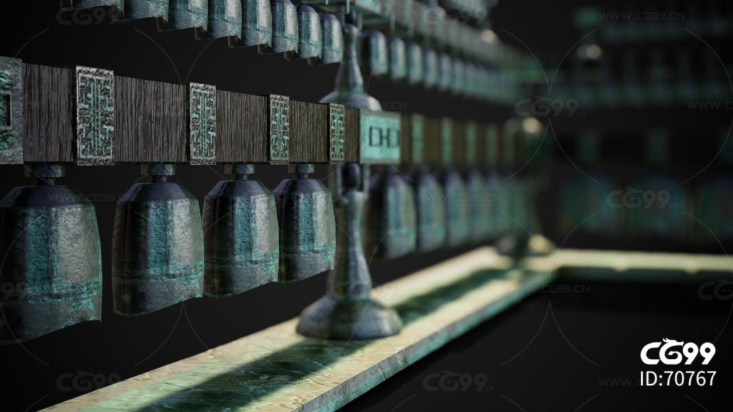 青铜器 钟 古代古董 祭祀