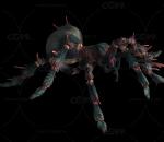 蜘蛛带动作一套