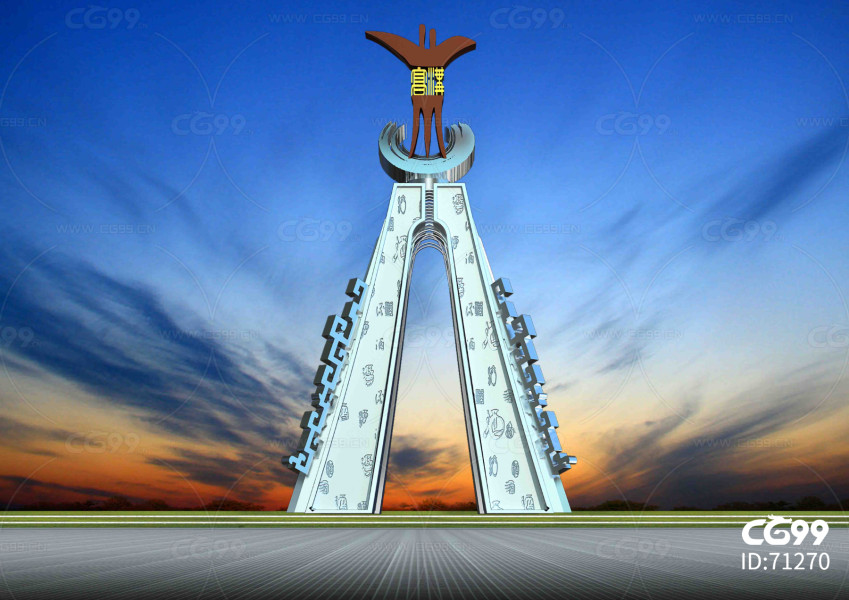 雕塑设计  雕塑  模型  效果图 社会主义 核心价值观