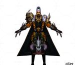 游戏模型 手游角色模型  白灵模型  战士系列模型