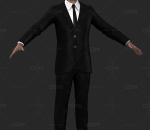 写实商务男士 商务男青年 上班族 商人 老板 西装男人 职业