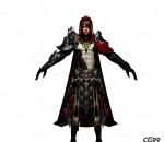 游戏模型 手游角色模型  战士系列模型