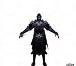 游戏模型 手游角色模型  暗影刺客模型