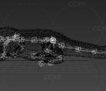 写实 影视级鳄鱼带动作一套