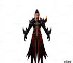 游戏模型 手游角色模型  龙灵模型  战士系列模型