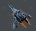 战斗机,飞机,科幻战机