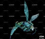 蜜蜂 巨蜂 马蜂 带动作一套