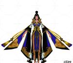 中国武侠玄幻手游角色模型   美女角色