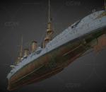 奥尔巴尼号战船  巡洋舰 炮台船舶 蒸汽船