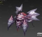 游戏怪物 死魂虫带一套动作