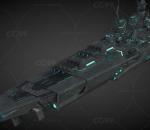 战舰世界 德国战列舰 大选帝候 星际船皮肤