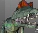 中国双棘龙 双冠龙 恐龙