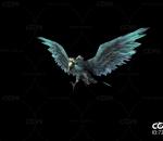 秃鹫 飞鸟 腐心鸟 妖怪带一套动作