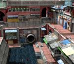 唐人街 华人生活区 中国风大楼 中国城 复古市井大楼 旧街道