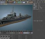 Z-1970号战舰  战船 炮台武器 卫星精准打击战船