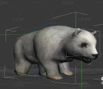 怪物_受伤的小熊带动作