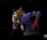 游戏模型 怪物  星辰幻兽带一套动作