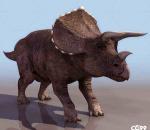 超精细恐龙 三角龙