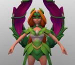 英雄行星角色 女法师 女性人物 公主 卡通人物