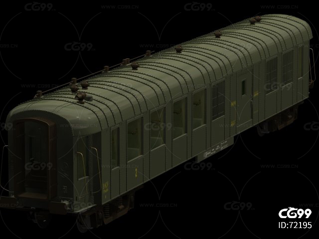 老式火车车厢