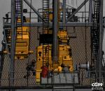 石油钻井机械 带人物动画