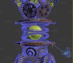 机械动画 齿轮运动 魔幻齿轮
