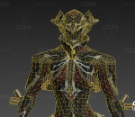 次时代女外星人 未来人类 科幻 战士